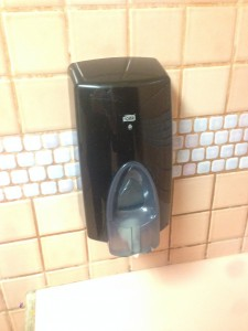 Soap Dispenser, Gresham Burgerville